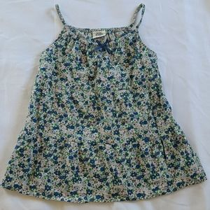 Mini Boden Floral Top girl Size 9